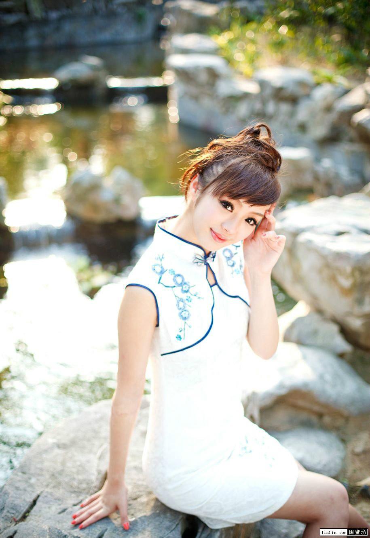 K09133 中国 越南旗袍 古风中式 写真 女性服装绘画参考图片集5073p 图片素材